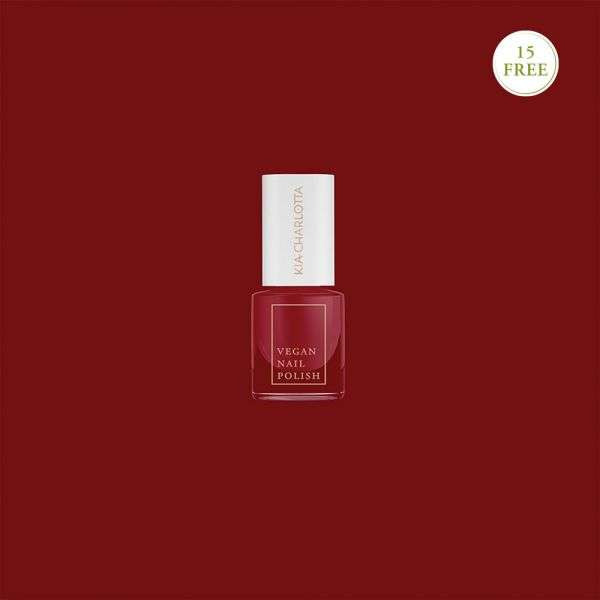 Esmalte de uñas 15free Hustle (Rojo Baya)